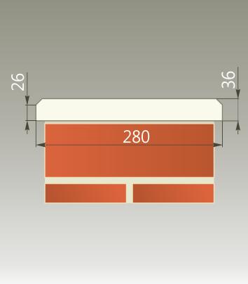 Парапетная крышка из бетона купить лестница под бетон