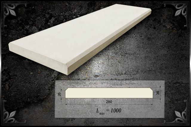 Парапетная крышка из бетона купить бетон в коврове купить с доставкой цены